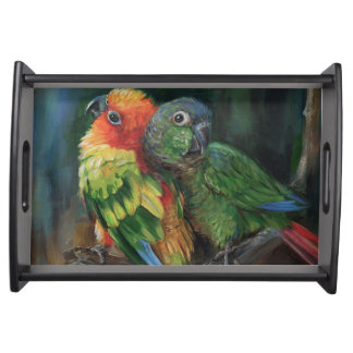 Conure Love small Serving Tray