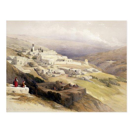 Convent of the Terra Santa, Nazareth Postcard