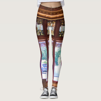 Convent Window Custom Leggings
