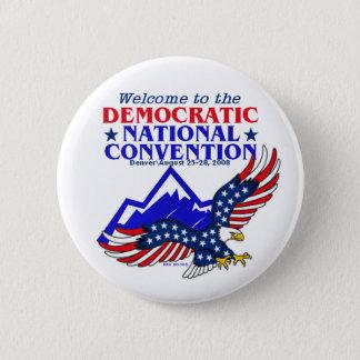 Convention DNC Obama Button