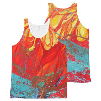 Convergence and Order All-Over Print Singlet