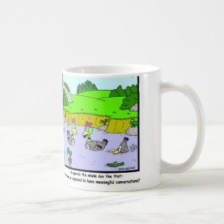 Conversation: Duck cartoon Coffee Mug
