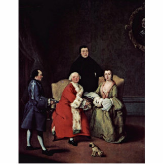 Conversation In Family By Longhi Pietro Photo Cutout