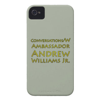 Conversations w/Ambassador Andrew Williams Jr. iPhone 4 Case-Mate Cases