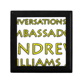 Conversations w/Ambassador Andrew Williams Jr. Small Square Gift Box