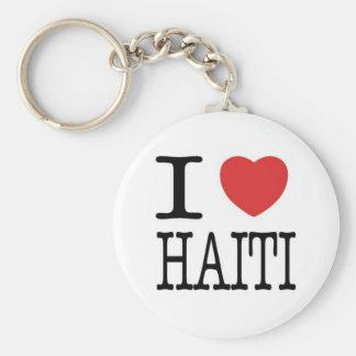 Conversations with the Living: I <3 Haiti Key Key Ring
