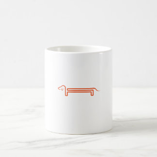 Conversion cup with motive for dachshund