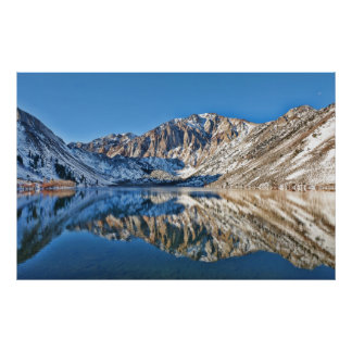 Convict Lake Reflections Poster