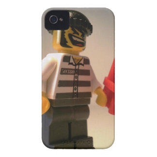 Convict Prisoner Minifig with Dynamite Sticks iPhone 4 Case-Mate Case