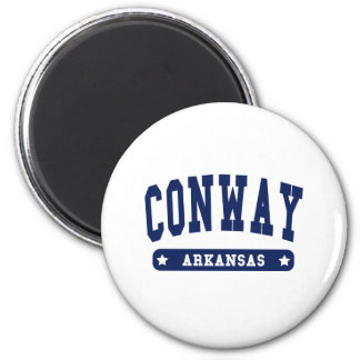 Conway Arkansas College Style tee shirts Fridge Magnets