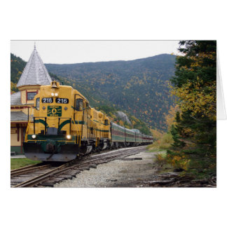 Conway Scenic Railroad, NH Card