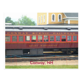 Conway Scenic RR Postcard