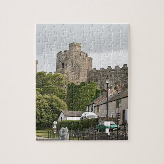 Conwy Castle, Wales, United Kingdom Jigsaw Puzzle