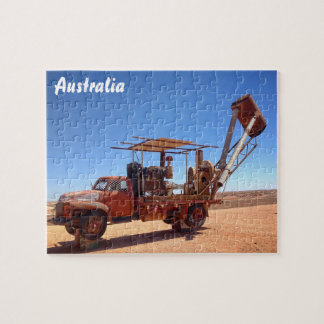 Coober Pedy blower jigsaw puzzle