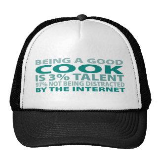 Cook 3% Talent Mesh Hats