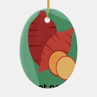 Cook a Sweet Potato Day - Appreciation Day Ceramic Ornament