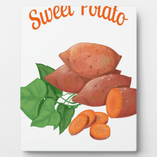 Cook a Sweet Potato Day - Appreciation Day Plaque