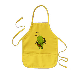 Cook Along With Cthulhu Kids Apron