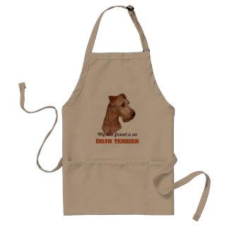 "Cook apron ""Irish Terrier """