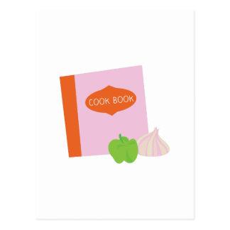 Cook Book Postcard