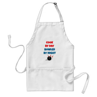 Cook by Day Bowler by Night Standard Apron