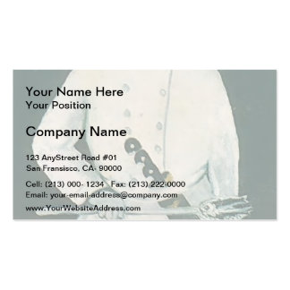 Cook by Niko Pirosmani Business Cards