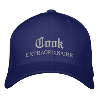 Cook Extraordinaire Embroidered Cap