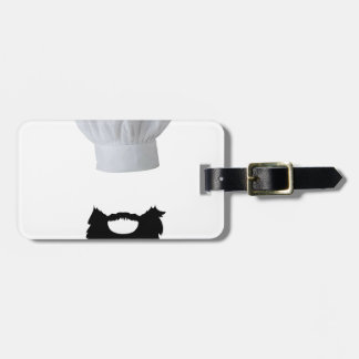 Cook hat luggage tag