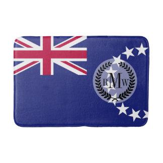 Cook Islands flag Bath Mats
