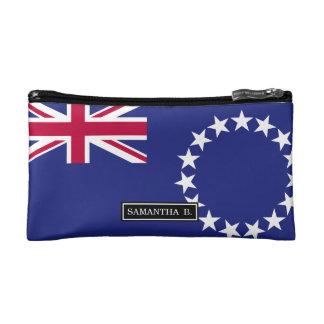 Cook Islands flag Cosmetic Bag