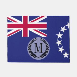 Cook Islands flag Doormat