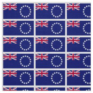 Cook Islands flag Fabric