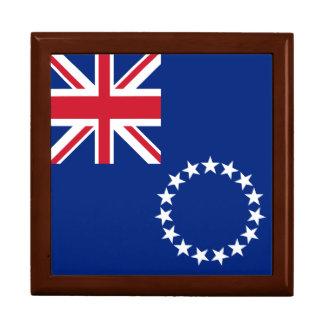 Cook Islands Flag Gift Box
