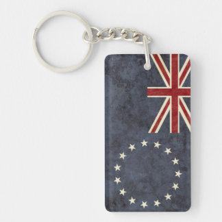 Cook Islands Flag Key Chain Souvenir