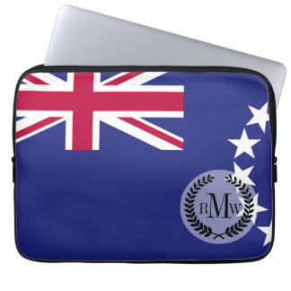 Cook Islands flag Laptop Sleeves