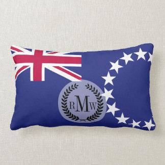 Cook Islands flag Lumbar Pillow