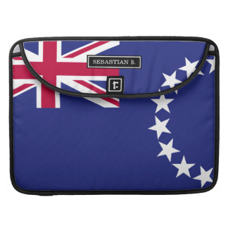 Cook Islands flag Sleeve For MacBooks
