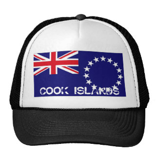 Cook islands flag souvenir hat