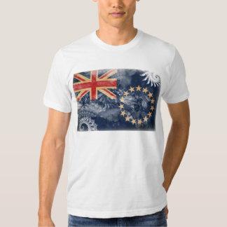 Cook Islands Flag T Shirt