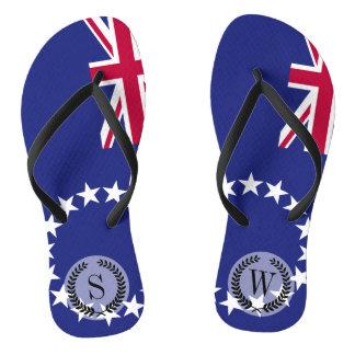 Cook Islands flag Thongs