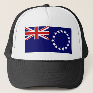 Cook Islands Flag Trucker Hat
