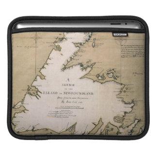 COOK: NEWFOUNDLAND, 1763 iPad SLEEVES
