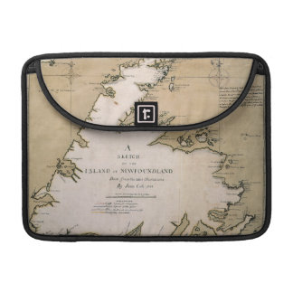 COOK: NEWFOUNDLAND, 1763 MacBook PRO SLEEVE
