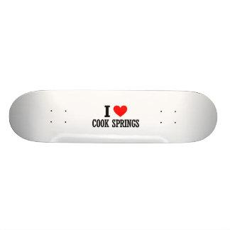 Cook Springs, Alabama City Design Skateboard Deck