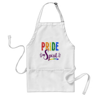 Cook up some Pride and Spirit LGBT Rainbow Standard Apron
