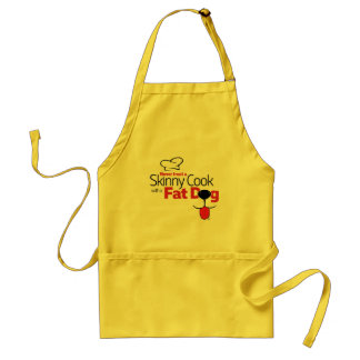 Cook with Fat Dog - Apron Short