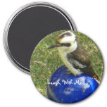 cookaburra, Laugh, With Me... Fridge Magnet