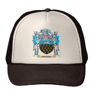 Cooke Coat of Arms - Family Crest Mesh Hat