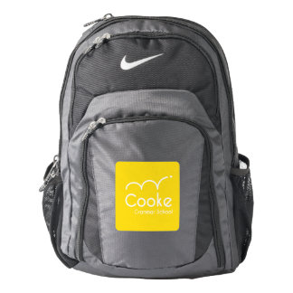 Cooke Grammar School Nike Backpack, Black/Gray Backpack