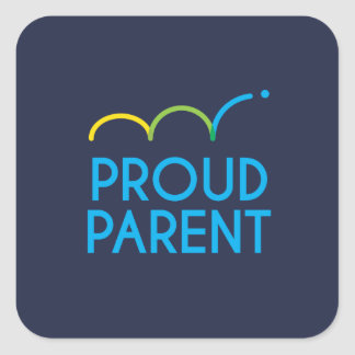 Cooke Proud Parent Stickers Large, 3 inch (6)